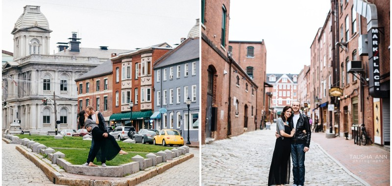 Ryan + Allison | Portland, Maine | Engagement Photos