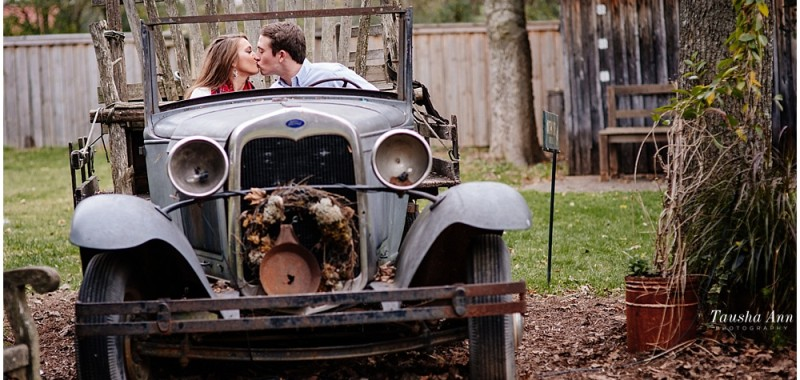 Brandon + Sydney's Small Town Charm Engagement Photos | Leipers Fork and Franklin TN