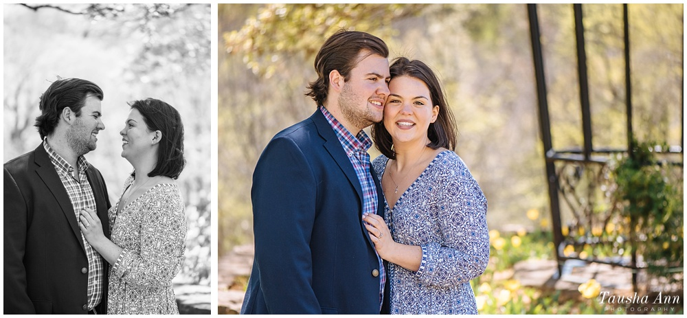 Surprise Proposal at Cheekwood Botanical Gardens - She Said Yes - Engagement Session
