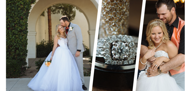 Casey + Brianna's Wedding Day |  St. Thomas Aquinas Church | Avondale, AZ