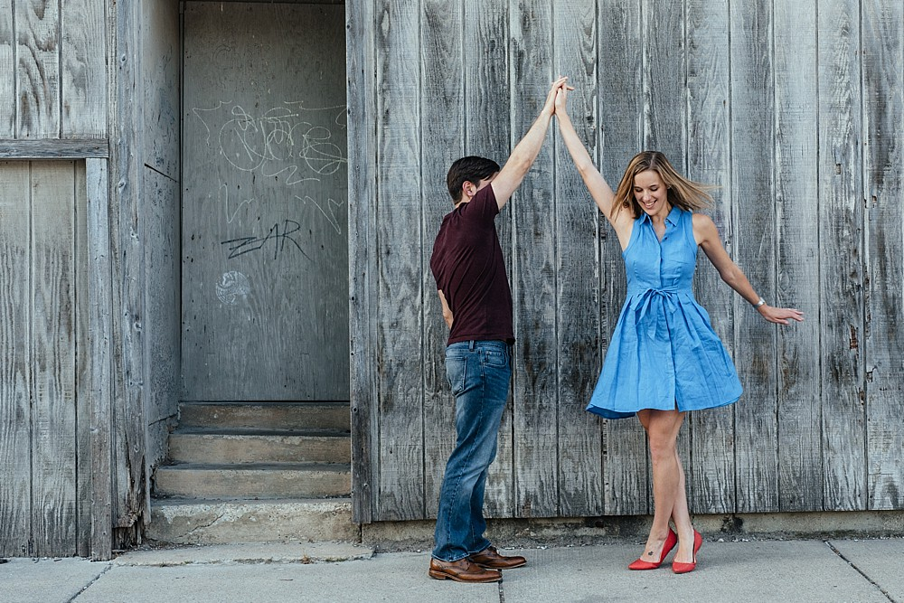 Couple spinning around - Nashville-Wedding-Photographer-Engagement_Photos_Downtown_Franklin_TN_Tausha_Ann_Photography_0006