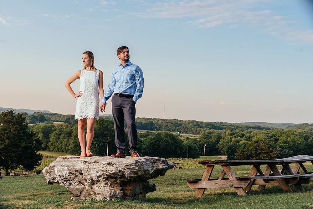 Arrington Vineyards, in the vines, Neewer Flash - Speedlight - Sigma - Nikon - Nashville-Wedding-Photographer-Engagement_Photos_Downtown_Franklin_TN_Tausha_Ann_Photography_0006