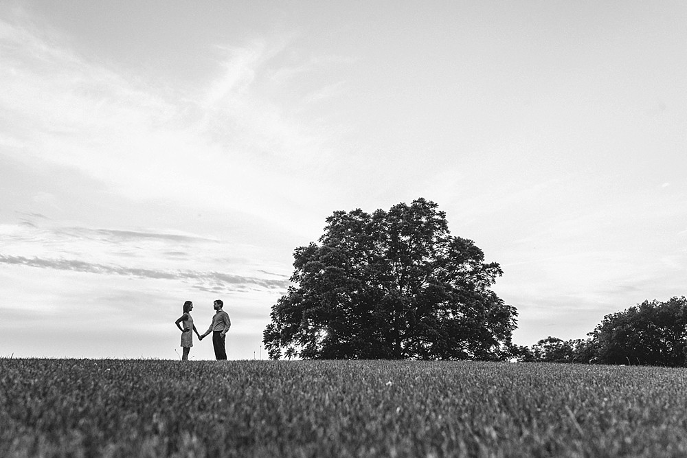 Black and white - Arrington Vineyards, in the vines - Nashville-Wedding-Photographer-Engagement_Photos_Downtown_Franklin_TN_Tausha_Ann_Photography_0006