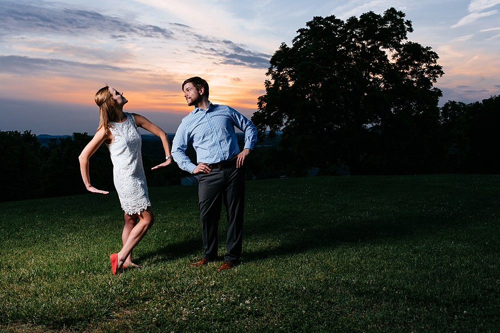 For fun - Arrington Vineyards, in the vines - Nashville-Wedding-Photographer-Engagement_Photos_Downtown_Franklin_TN_Tausha_Ann_Photography_0006