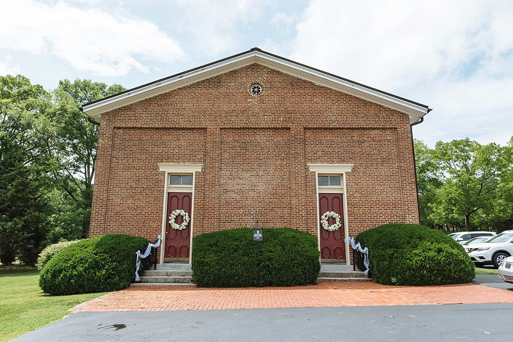 Exterior of Owen Chapel in Brentwood TN, Vintage, Historic Building