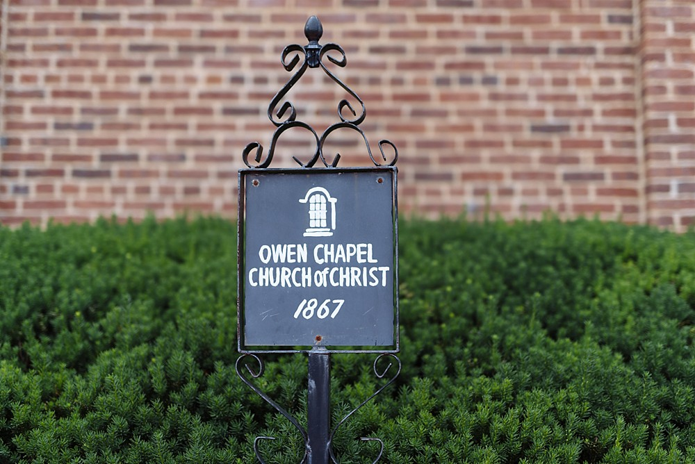 Owen Chapel, Historic Building