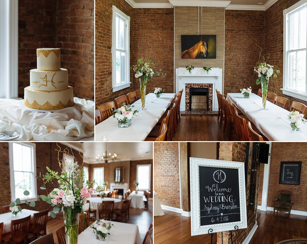 Reception at McConnell House, Historic, Downtown Franklin=